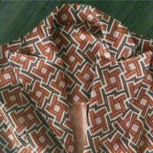 Mod vintage blazer geometric pattern